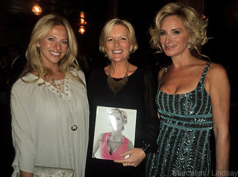 "'Real Housewives' stars Dina Manzo, Cat Ommanney, and Sonja Morgan attend ""The Gift"" book launch"