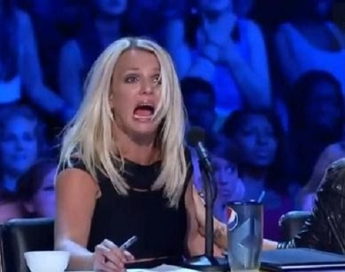 Britney Spears on 'The X-Factor'