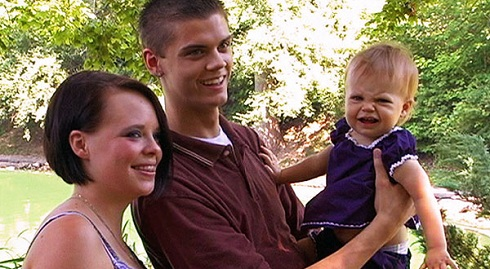 Catelynn Lowell and Tyler Baltierra in 'Teen Mom'