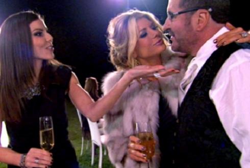 Alexis Bellino and Jim Bellino in 'Real Housewives of Orange County' season 7