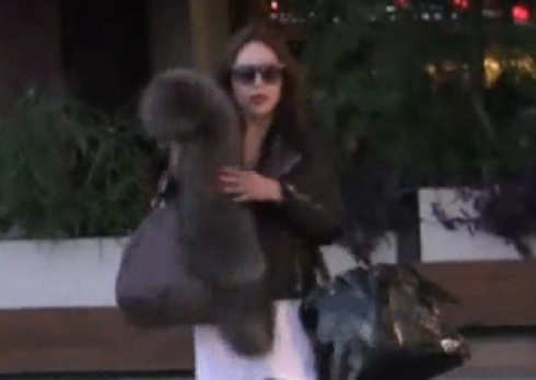 Amanda Bynes gets into fight with photographer on Sunset Boulevard