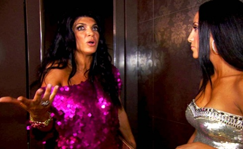 Teresa Giudice during 'Real Housewives of New Jersey' season 4 finale