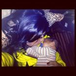 Nicole 'Snooki' Polizzi poses with her son Lorenzo Dominic