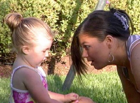 Amber Portwood and Leah on 'Teen Mom'