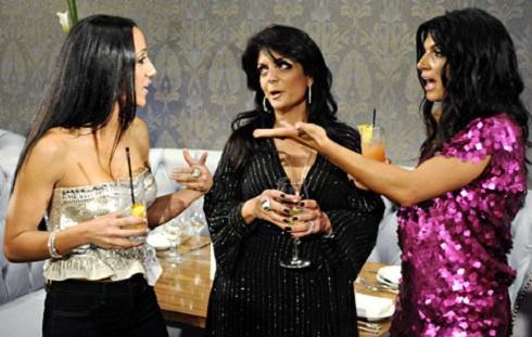 Melissa Gorga, Kathy Wakile, and Teresa Giudice on 'Real Housewives of New Jersey'