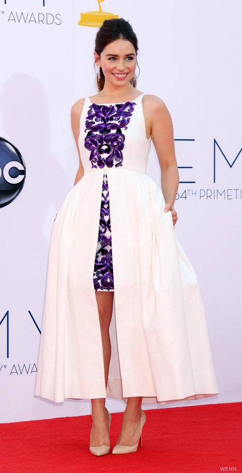 Game of Thrones actress Emilia Clarke who plays Daenerys Targaryen