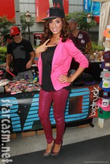 Teen Mom Farrah Abraham in a hat at 2012 KIIS VMA gifting suite