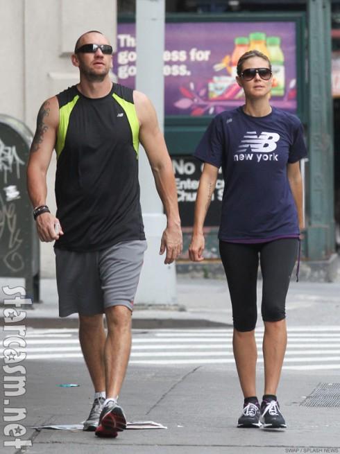 Heidi Klum with her bodyguard and alleged lover Martin Kristen