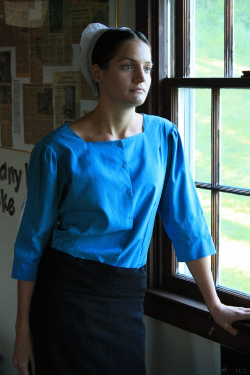 Breaking Amish's Kate is actually Katie Stoltzfus
