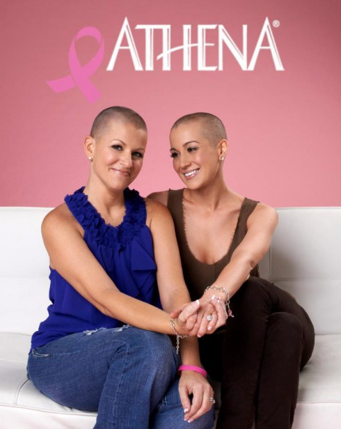 Kellie Pickler shaves hair bald for cancer awareness an Athena Water