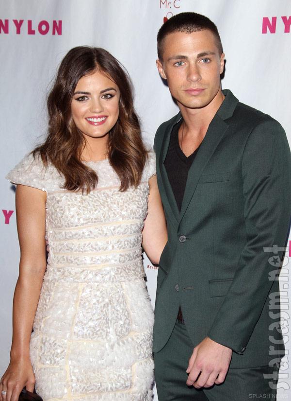 Lucy Hale dating Ezra