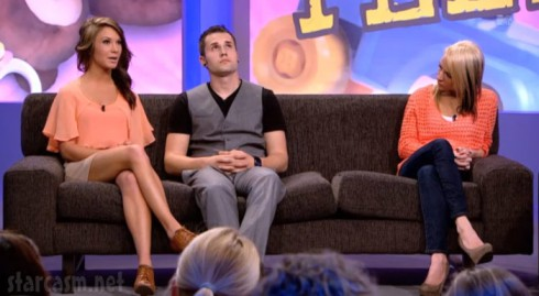 Dalis Connell Ryan Edwards and Maci Bookout on Teen Mom Season 4 Reunion Special with Dr. Drew