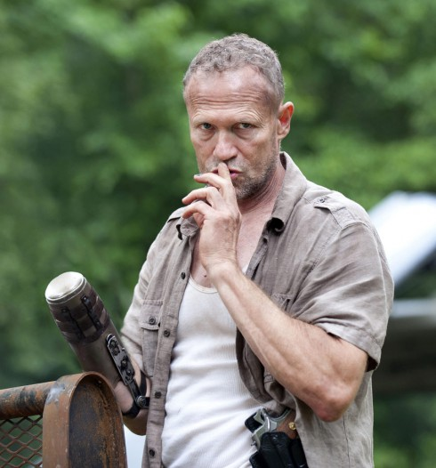 Daryl's older brother Merle Dixon from The Walking Dead Season 3