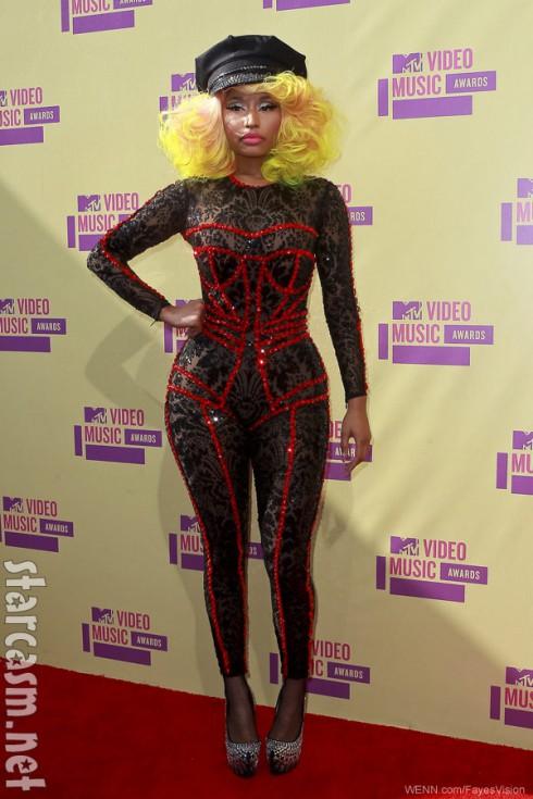 Nicki Minaj 2012 MTV Video Music Awards red carpet photo