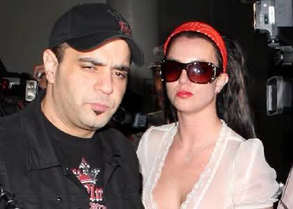 Britney Spears and Sam Lufti