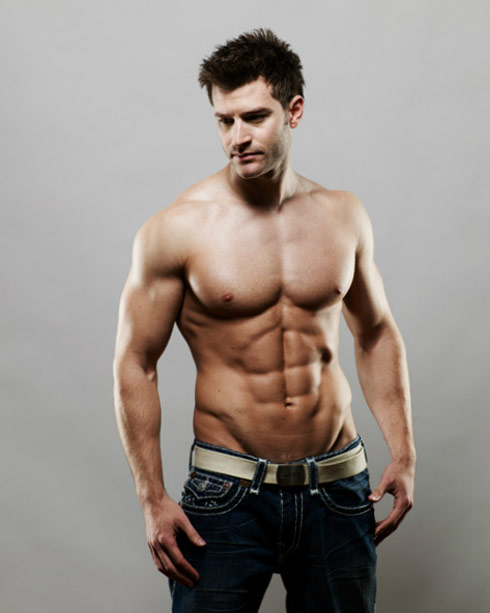 Sexy Lord Robert Walters shirtless