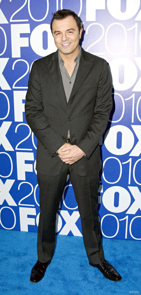 Seth MacFarlane full length photo