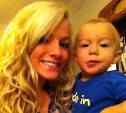 Mackenzie Douthit and her son Gannon from '16 & Pregnant'