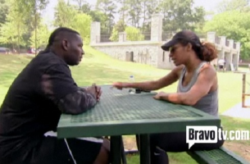 Bob and Sheree Whitfield discuss child support on 'Real Housewives of Atlanta'