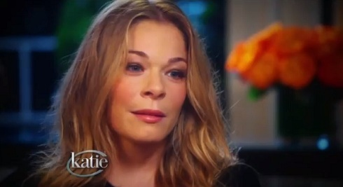LeAnn Rimes appears on 'Katie' for her Katie Couric interview