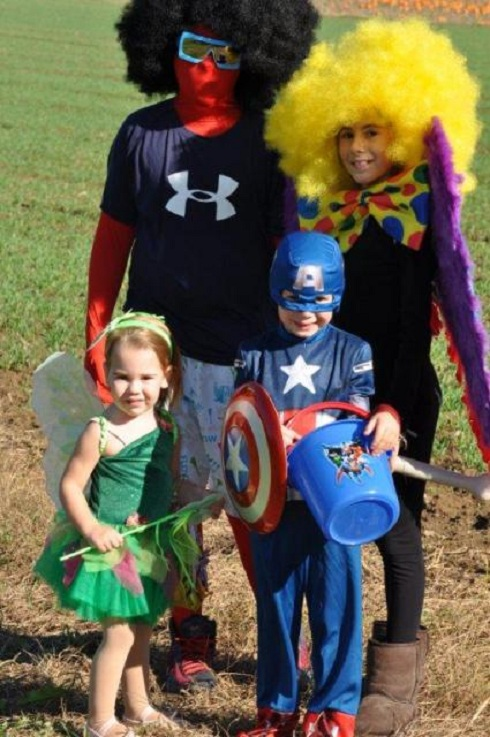 'Real Housewives of New York' star Aviva Drescher's children dressed up for Halloween