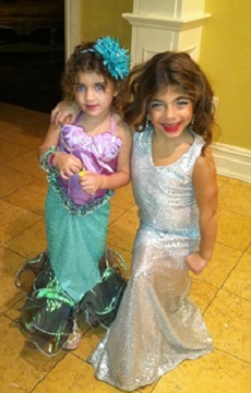 'Real Housewives of New Jersey' star Teresa Giudice's daughters on Halloween