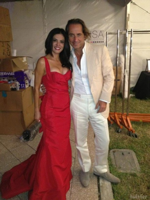 Real Housewives of Miami's Adriana de Moura with husband Frederic Marq