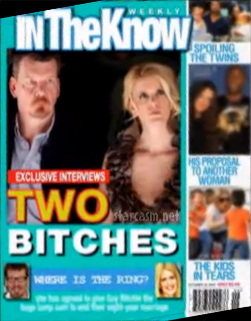 Alex McCord and Simon van Kempen In the Know fake tabloid magazine cover
