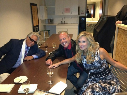 Sonja Morgan, Barry Weiss and Dean norris of Breaking bad at the NCC Media Upfront