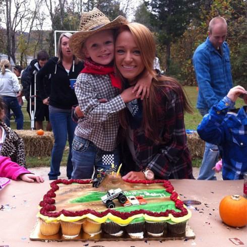 Teen Mom's Bentley Edwards' fourth birthday party