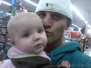Jenelle Evans' new boyfriend Courtland Rogers with his daughter JaJa Jordan Lewis photo 2