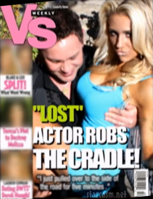 Courtney Stodden fake tabloid magazine cover from Couples Therapy