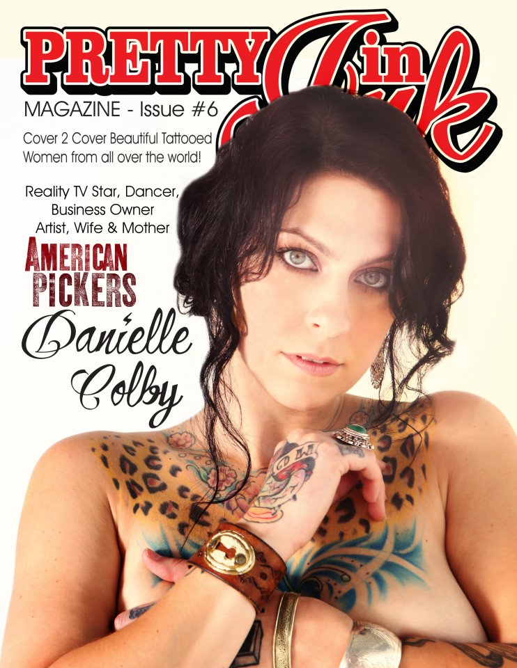 American Pickers Danielle Colby Cushman Pretty In Ink magazine cover