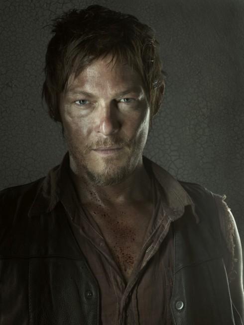 Norman Reedus as Daryl Dixon on The Walking Dead Season 3 photo