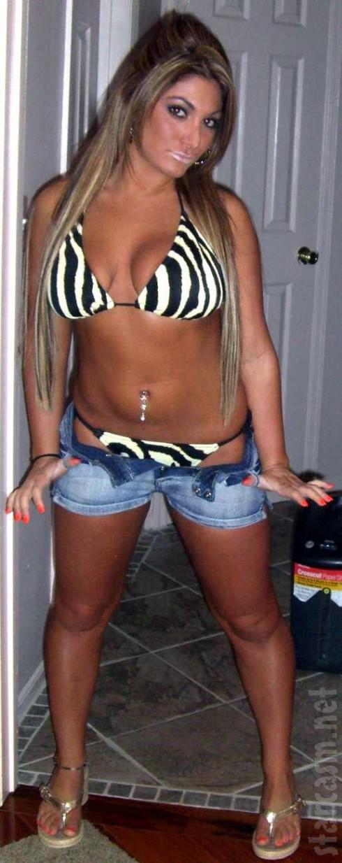Deena Nicole Cortese bikini photo before Jersey Shore