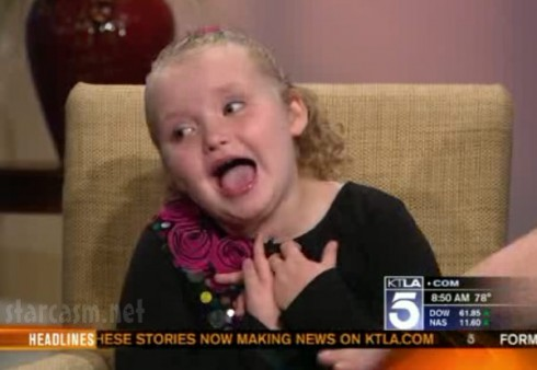 Honey Boo Boo KTLA interview with Alana Thompson and June Shannon