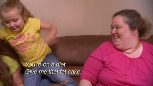 Honey Boo Boo and Mama June
