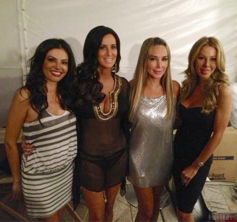 Real Housewives of Miami Adriana Marysol and Lisa with Patti Stanger