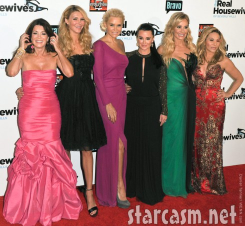 Cast of the Real Housewives of Beverly Hills at the Season 3 Premiere party