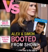 Alex McCord and Simon van Kempen Vs Weekly fake tabloid magazine cover
