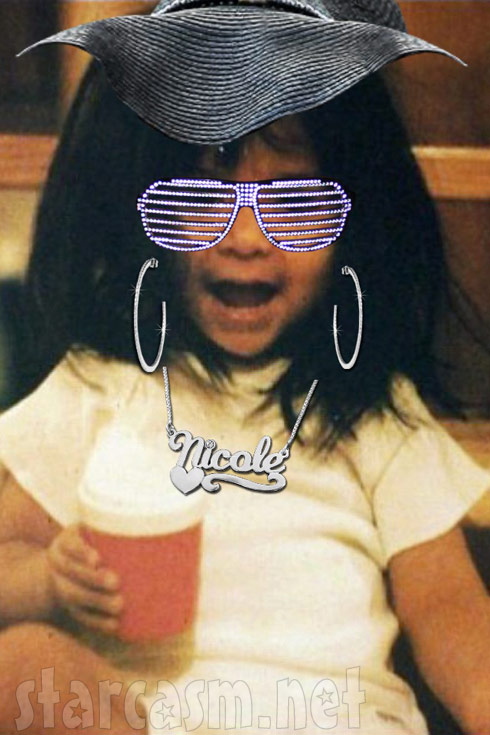 Snookify Me app photo of Snooki as a child