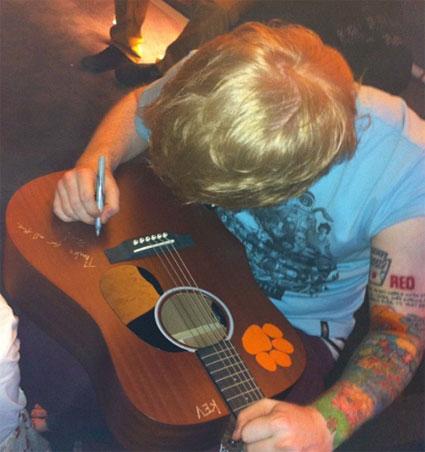 Ed Shareen RED tattoo Taylor Swift new boyfriend