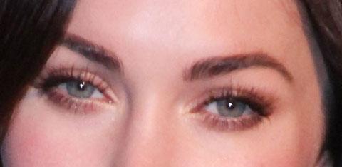 Eyebrow implants 8 000 for megan fox 39 s eyebrows for Tattoo eyebrows nj