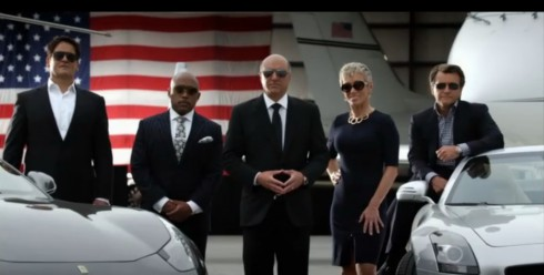 Shark Tank Sharks Mark Cuban fortune money rich entrepreneur american flag