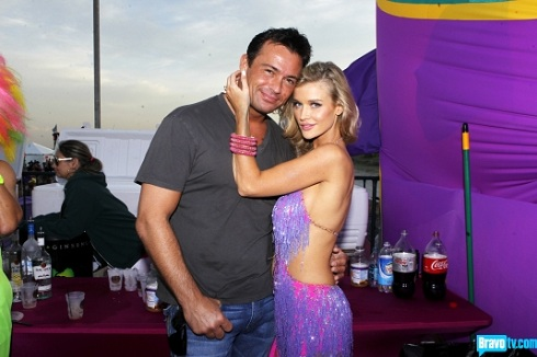 Romain Zago and Joanna Krupa of 'Real Housewives of Miami'
