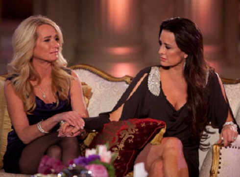 Kim and Kyle Richards on the 'Real Housewives of Beverly Hills' season 1 reunion