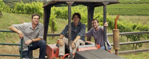 Ben Flanik and friends at Envolve Winery