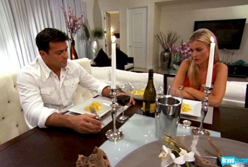 Romain Zago and Joanna Krupa on season 2 of 'Real Housewives of Miami'