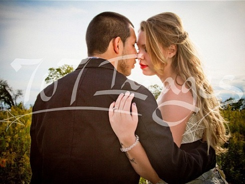 Javi Marroquin and Kail Lowry wedding photo