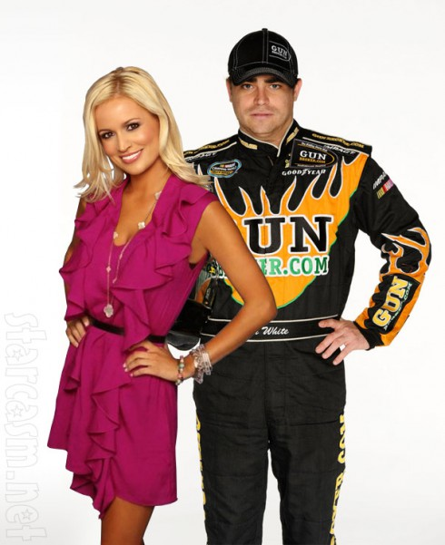 Bachelorette Emily Maynard and Jason White of NASCAR reportedly dating